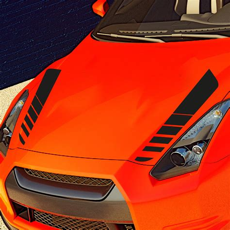 Aufkleber F R Motorhaube autoaufkleber tuning dekor aufkleber f 252 r motorhaube car
