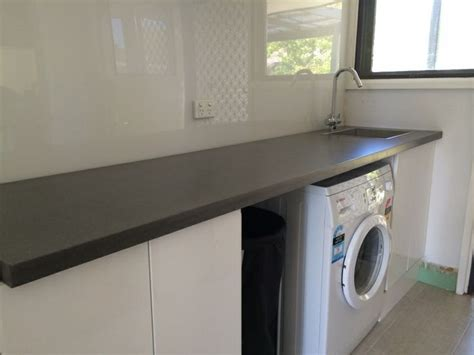 laundry design canberra 1000 images about polished concrete laundry benchtops on