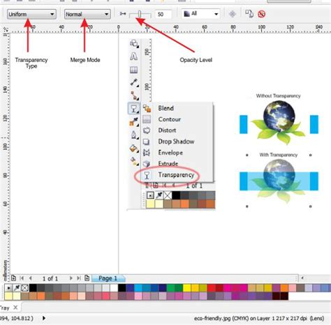 transparentcy on an imported image coreldraw graphics suite 12 coreldraw x3 and