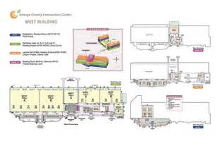 Orange County Convention Center Floor Plans Map Of The West Concourse Flickr Photo Sharing
