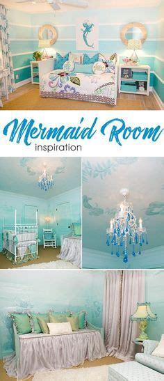 mermaid themenzimmer kinderzimmer f 252 r kleine m 228 dchen das schlafzimmer einer