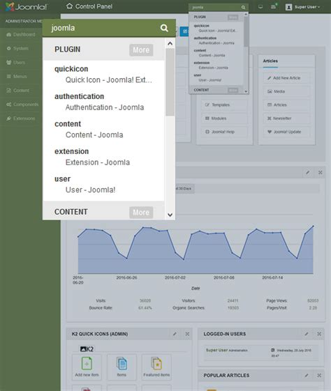joomla administrator templates joomla admin template ja admin joomla templates and