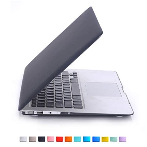 Aksesoris Yellow For Macbook Air 13 Inch valawy newest version 13 inch yellow rubberized for macbook air 13 3 quot a1466 a1369