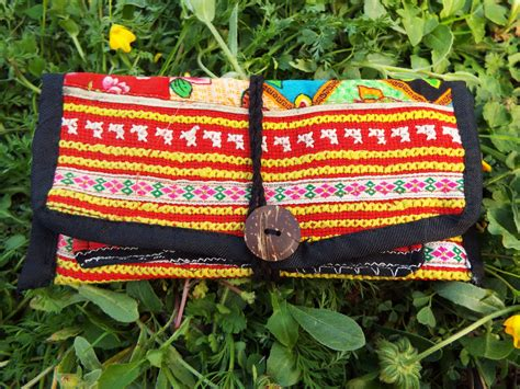 Handmade Fabric - handmade cotton tobacco pouch