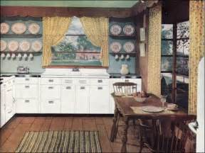 1940 homes interior 1946 early american kitchen 1940s kitchens mid century