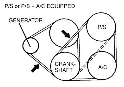 mazda protege water pump belt diagram