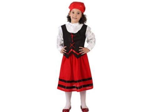 imagenes vestuarios navideños para niños disfraz de pastora rojo y negro ni 241 a 7 9 a 241 os
