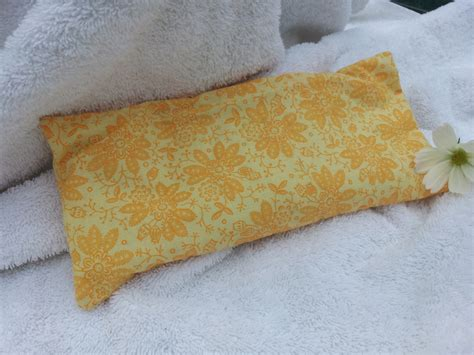 Flaxseed Pillows by Lavender Flaxseed Eye Pillow In Daffodil Yellow 183 Magick