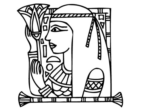 free coloring pages of cleopatra