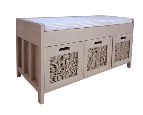 bench storage unit bench storage unit hallway bedroom beige seat fabric