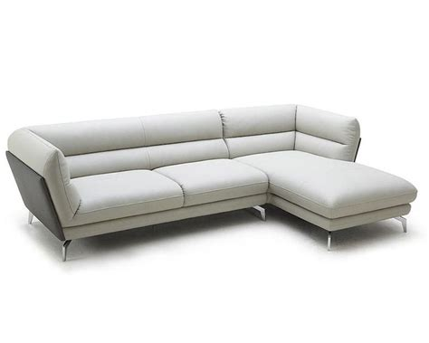 contemporary sofa sectional contemporary eco leather sectional sofa 44l5996