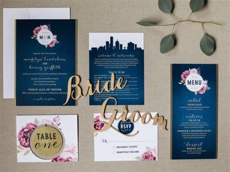 Wedding Invitations Milwaukee by Custom Invitations For Your Milwaukee Wedding