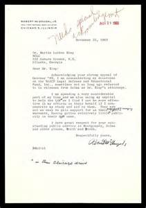 How To Write Charity Appeal Letter Letter From Robert Mcdougal Jr To Mlk Regarding A