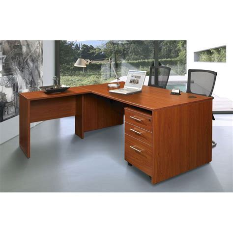 Pro X Executive Desk with Return and Mobile Pedestal   DCG