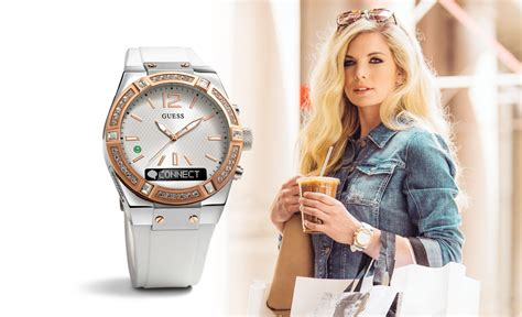 Smartwatch Guess guess connect is the luxury smartwatch for sensible trend setters lipstiq