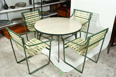 samsonite patio furniture samsonite quot sunrest quot outdoor dining set at 1stdibs