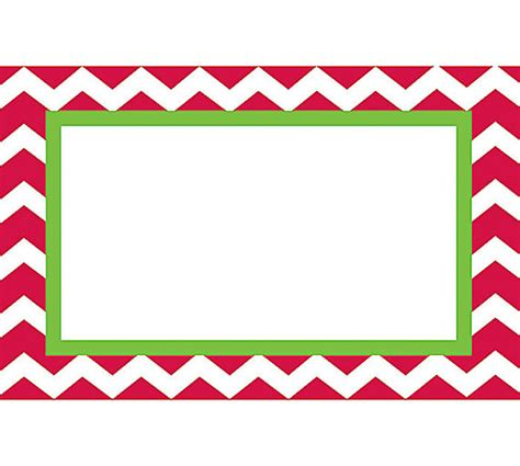 Free Printable Blank Christmas Labels