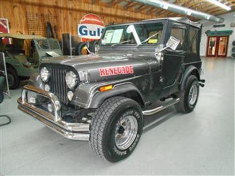 Cj Jeeps For Sale In Ga 1978 Jeep Cj 5 For Sale Carsforsale