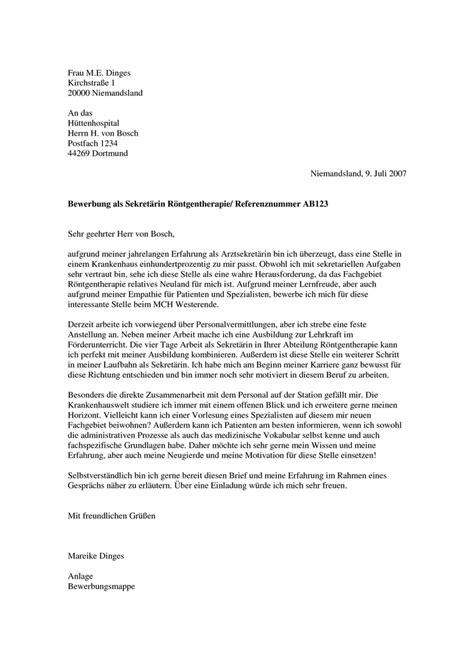 Bewerbung Anschreiben Arzt Muster Modellbriefe Briefaufbestellung