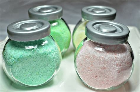 bath salts bathtub bath salts recipe diy wedding shower favors