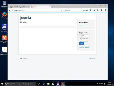 tutorial joomla 3 4 8 como instalar nuestro propio servidor web xampp con varios