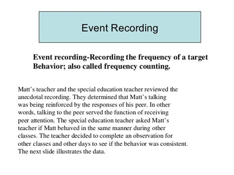 event sling observation template chapter 5 wortham classroom assessments observation