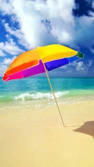 Beach umbrella beach umbrella on the beach