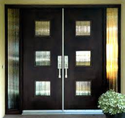 Contemporary Double Front Door by Front Door On Pinterest Double Front Doors Double Doors