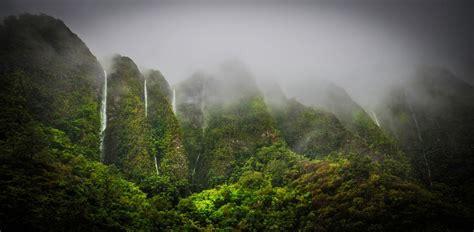 Landscaping Oahu Nature Landscape Oahu Hawaii Tropical Forest Mist