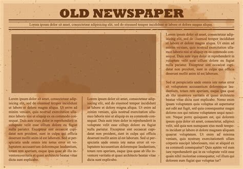 drive newspaper template newspaper vector free vector stock