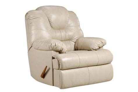 white rocker recliner camelot beige leather rocker recliner at gardner white