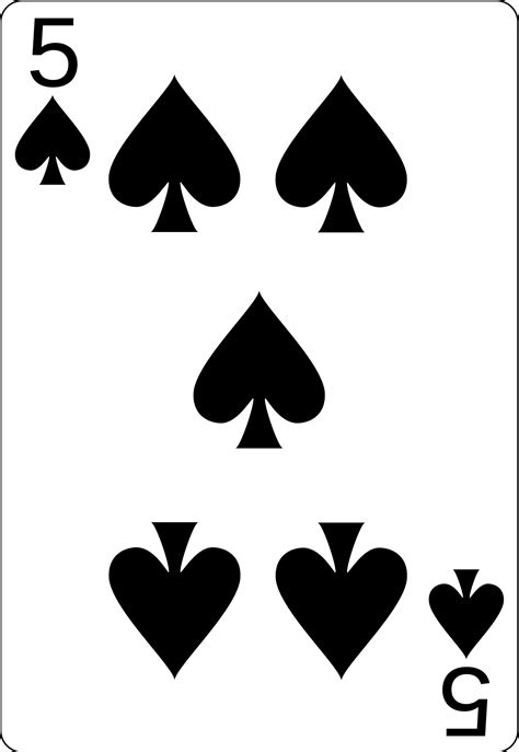 File:5 of spades.svg - Wikimedia Commons