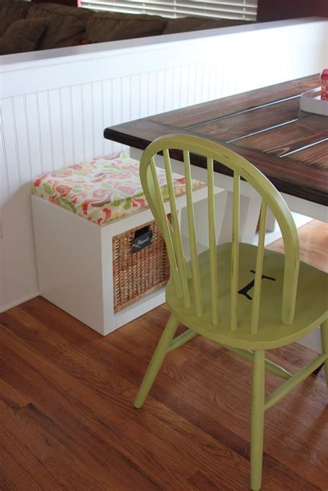 bookcase bench diy 10 diy solutions to renew your kitchen 10 bench storage