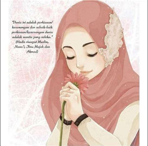 foto hijab kartun foto hijab kartun 20 gambar kartun wanita cantik terbaru