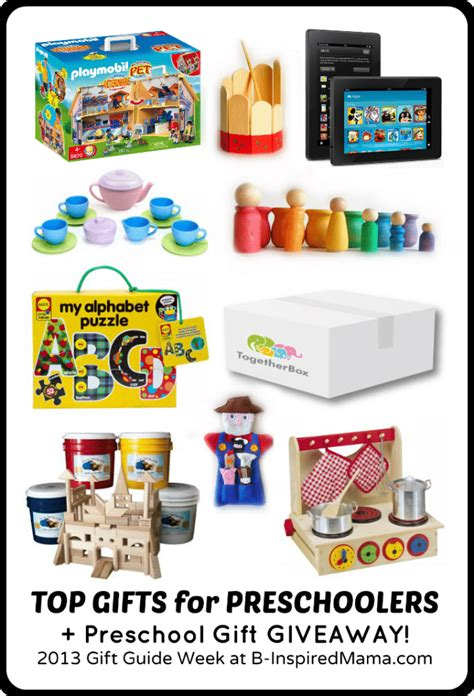 best preschool christmas gifts 2013 gift guide week top preschooler picks b inspired