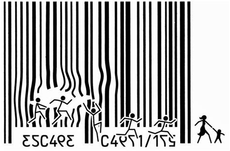 barcode tattoo human trafficking experimental theology national buy nothing day