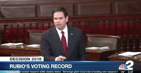 Voting Records Shows Marco Rubio Wasn T Always So Nonchalant About Missing Votes Saintpetersblog