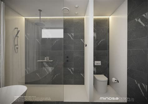Modern Ensuite Bathrooms by Minosa Modern Bathroom Design To