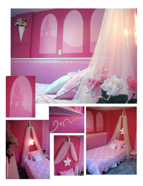 Princess Bedroom Decorating Ideas Disney Princess Bedroom Decor Photograph Id Mommy Diy Pri