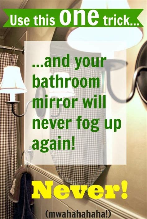 keep bathroom mirror from fogging 116 best images about bathroom organizing on pinterest small bathroom makeovers toothbrush