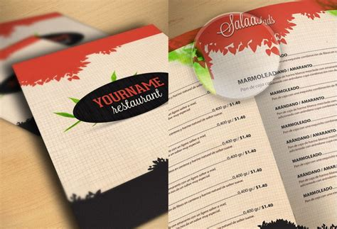 free restaurant menu template psd 50 free restaurant menu templates food flyers covers