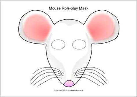 printable mouse mask template 281 best images about masks on duck mask