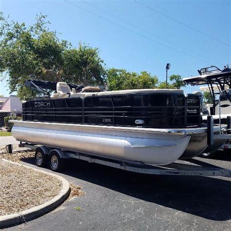 coach pontoon boat trader 2017 coach 230 rl 24 foot 2017 boat in sarasota fl