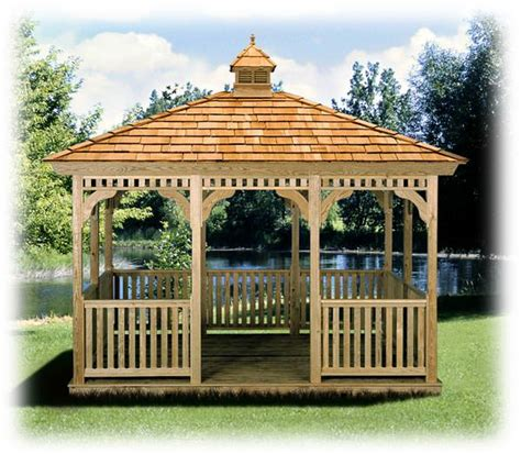 10 X 12 Wood Gazebo Gazebos For Rochester Ny And Western New York