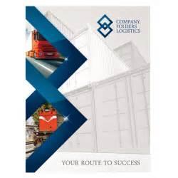 Business Folder Template Corporate Folder Design Template Psd Blue Diamond Logistics