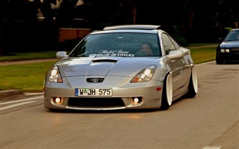 stanced toyota celica image gallery stanced celica