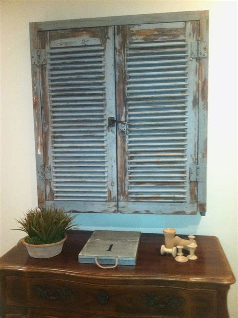shutter tv wall cabinet 36 best images about shutter love on pinterest shabby