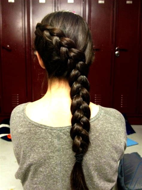 katniss hairstyle katniss braid hair styles pinterest katniss everdeen