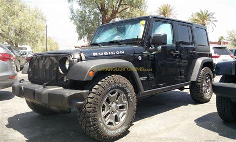 Wrangler Jl Diesel 2018 jeep wrangler rubicon diesel spied 2018 jeep