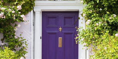 purple front door the 3 things homes with great curb appeal have in common